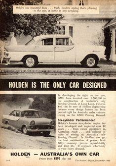 https://flic.kr/p/KGGTdy   1960 FB Holden Special Sedan Page 1 Aussie Original Magazine Advertisement
