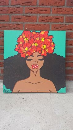 UNDER CONSTRUCTION: Simplicity - SOLD Black Art Painting, Hippie Painting, Trippy Painting, Cartoon Painting, Acrylic Painting Canvas, Cartoon Art, Simple Canvas Paintings, Small Canvas Art, Mini Canvas Art