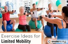 12-Minute Seated Core Workout Video and other stretching, cardio exercise videos.   SparkPeople