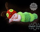 Very Hungry Caterpillar crochet pattern from Elizabeth Peck on Etsy--oh if I had another one!