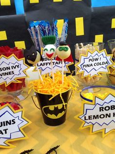 Batman Birthday Party Ideas | Photo 7 of 18 | Catch My Party