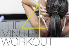 4-Minute Workout that Burns 600 Calories Guaranteed | Health Digezt