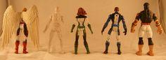 All-New X-Men (Cyclops, Jean Grey, Beast, Angel, and Iceman) (Marvel Legends) Custom Action Figure