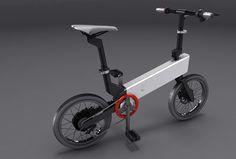 Jeongche Yoon // BiCX folding electric bicycle