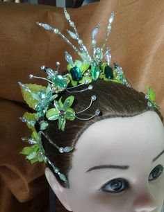 Queen of the Forest Headpiece