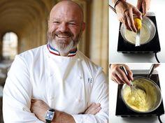 Apprenez à préparer une crème Chiboust dans les règles de l'art, grâce à la recette détaillée étape par étape du chef Philippe Etchebest, star de Cauchemar...