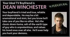 Supernatural - Personality Quiz