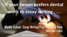 Is it like pulling teeth 2 get ur #homeschool kid to write? FREEBIE to ...
