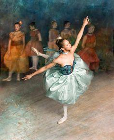 Misty Copeland in Degas