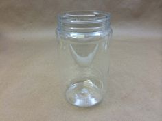 Clear Plastic PET Wide Mouth Jar