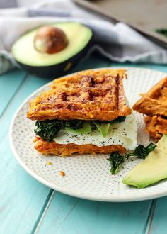 Get your waffle irons out for this Sweet Potato Waffle Breakfast Sandwich. Five simple ingredients combined for one epic paleo sandwich. Whole30 compliant.
