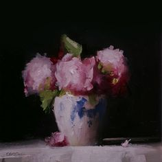 Neil Carroll Original Oil Painting Realism Impressionism Still Life Peonies Oil Painting App, Oil Painting Texture, Oil Painting For Sale, Garden Painting, Oil Paintings, Flower Paintings, Painting Canvas, Easy Flower Painting, Flower Art