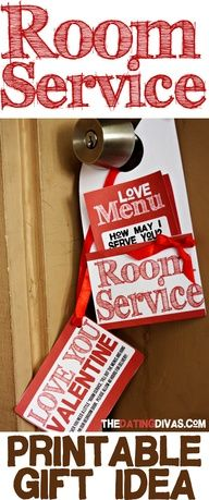 Love Room Service? Yes Please!    #romanceideas #howdoesshe