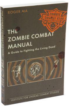 ThinkGeek :: The Zombie Combat Manual