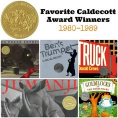 Favorite Caldecott Books 1980-1989 | The Jenny Evolution