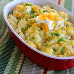 """Loaded Cauliflower 