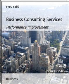 syed sajid: Business Consulting Services