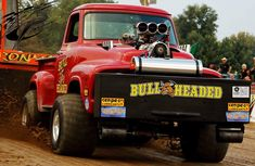 Truck And Tractor Pull, Tractor Pulling, Classic Ford Trucks, Classic Cars, Truck Pulls, Ford 4x4, Pickup Trucks, Cars Motorcycles, Tractors