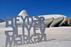 "Képtalálat a következőre: ""heydar aliyev center baku azerbaijan"" Baku Azerbaijan, Cultural Center, Zaha Hadid, Beautiful Buildings, Capital City, Architecture, Biography, Centre, Bon Voyage"