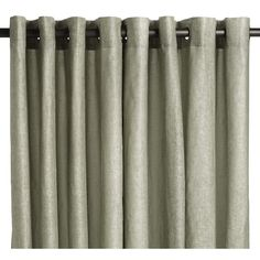 Great example of what grommet top curtains look like
