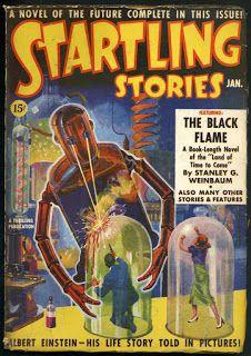 The Golden Age: Startling Stories ~ 1939-1955 ~ Cover art by Howard V. Brown, Earle Bergey, Rudolph Belarski, Alex Schomburg, Ed Emsh, Jack Coggins, Walter Popp & Ed Valigursky