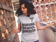 Nursing School Survivor Limited Edition! - NURSING SCHOOL SURVIVOR Sweatshirt from SURAMA FASHION   Teespring