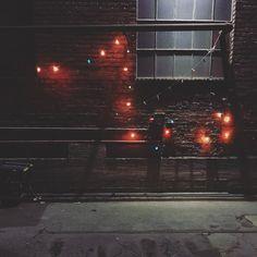 Not many lights still working at the warehouse. #stillbad