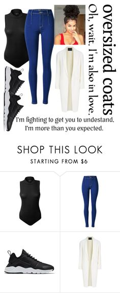 """Untitled #505"" by dtx-jada ❤ liked on Polyvore featuring LE3NO, NIKE and Alexander Wang"