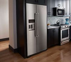 bildergebnis für küche mit sideside kühlschrank | haus
