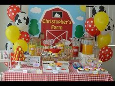 ▶ Farmyard Party via Little Wish Parties childrens party blog - YouTube