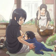 Uchiha Sasuke,Uchiha Itachi, Uchiha Mikoto