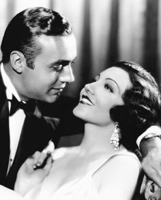 Claudette Colbert and Charles Boyer
