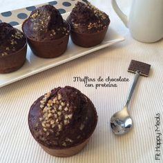 Recetas Saludables, Fitness y Ejercicios: #Muffins de #Chocolate con proteína. http://recetassaludablesfitnessyejercicios.blogspot.com.es/2015/03/muffins-de-chocolate-con-proteina.html?m=0