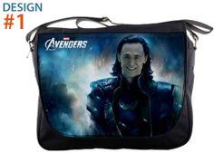 "Loki Avengers - Tom Hiddleston 14"" Messenger Sling School Laptop Notebook School Bags (MB041)"