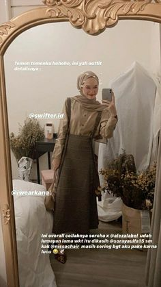 Street Hijab Fashion, Muslim Fashion, Vintage Street Fashion, Ootd Hijab, Casual Hijab Outfit, Modest Outfits Muslim, Girly Outfits, Fashion Outfits, Hijab Fashion Inspiration