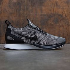 92ffc0480c75e Nike Men Air Zoom Mariah Flyknit Racer (pale grey   black-solar red-white)