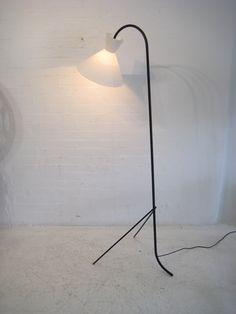 French 1950s floor lamp