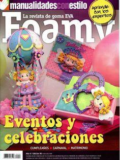 Como hacer un globo aerostático en foamy Foam Crafts, Crafts To Make, Crafts For Kids, Paper Crafts, Diy Crafts, Ideas Para Fiestas, Lalaloopsy, Balloon Arch, Toy Boxes