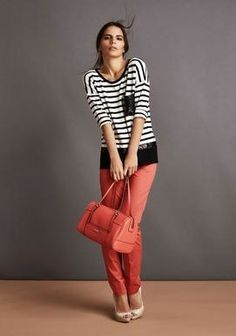 Bianco, nero e rosso: classe e allegria!  http://blog.carlaferroni.it/?p=3364