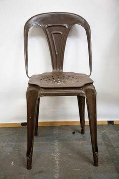 sedie metallo