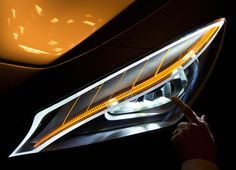 Mercedes-Benz, these lights on your new Style Coupé are fantastic