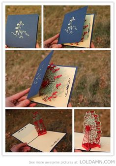 Cool designs: Incredible pop-up card