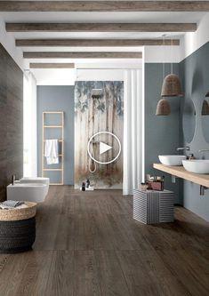 retro en Deco look - keramische - en-keramische platen #Badkamer #Badkamerideeen