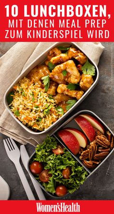 A good lunch box is leak-proof, food-safe and can also be pretty. And: the nicer the lunch box, the more you want to take your food to work. We have the 10 most beautiful models for lunch boxes here for you 10 beautiful lunch boxes for meal prep Wo Clean Eating Recipes, Clean Eating Snacks, Lunch Recipes, Diet Recipes, Healthy Diet Tips, Diet And Nutrition, Healthy Snacks, Beste Lunchbox, Boite A Lunch