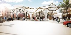 Sustainable Market Square Competition Entry / Nikolova/Aarsø (N/A)