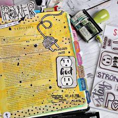 Bible Journaling by @bridgett.brainard                                                                                                                                                                                 More