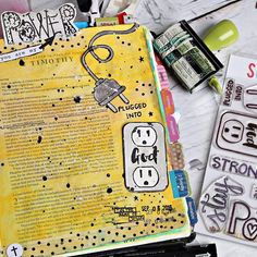 Bible Journaling by @bridgett.brainard