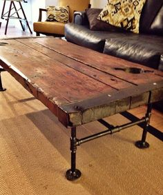 Authentic WWII Liberty Ship Hatch Cover Re Purposed Coffee Table   #Nautical, #Furniture, #table, #furnishings, #coastal, #living | Nautical  Furniture And ...