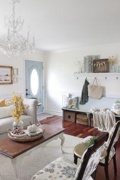 Shades of Blue Interiors - lots of good inspiration