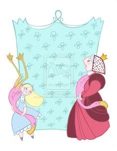 Alice in Wonderland Card Five by spicysteweddemon on DeviantArt